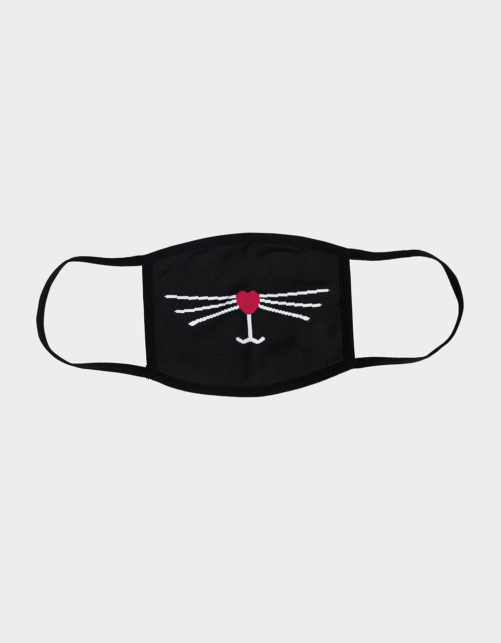 GOOD KITTY MASK BLACK - ACCESSORIES - Betsey Johnson