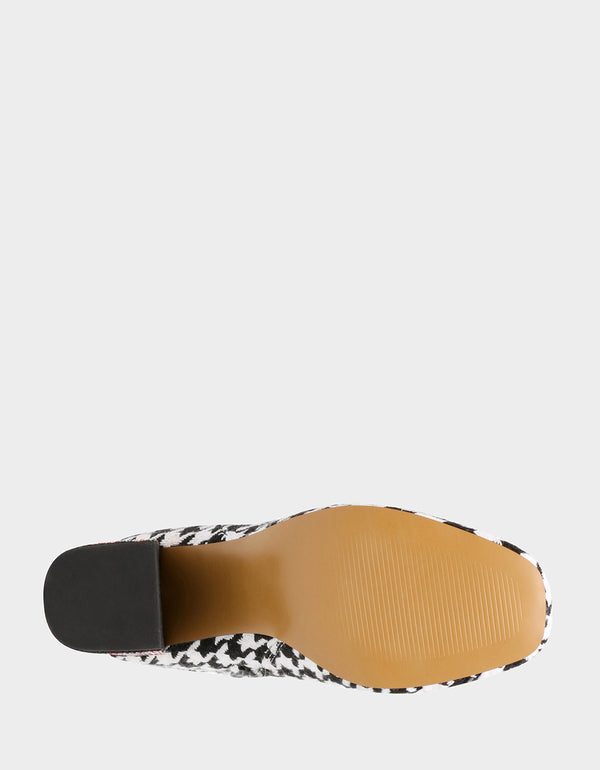 HARMONI BLACK-WHITE - SHOES - Betsey Johnson