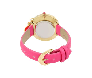 HE LOVES ME DANGLE PINK WATCH PINK