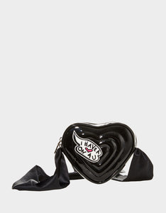 LIMITED EDITION HEART ON YOU CROSSBODY BLACK