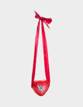 LIMITED EDITION HEART ON YOU CROSSBODY RED - HANDBAGS - Betsey Johnson