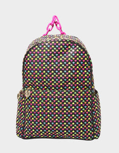 HEART ON MY SLEEVE LARGE BACKPACK MULTI