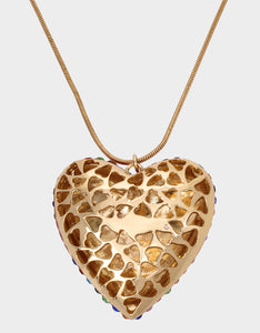 HEARTS ON FIRE PENDANT MULTI