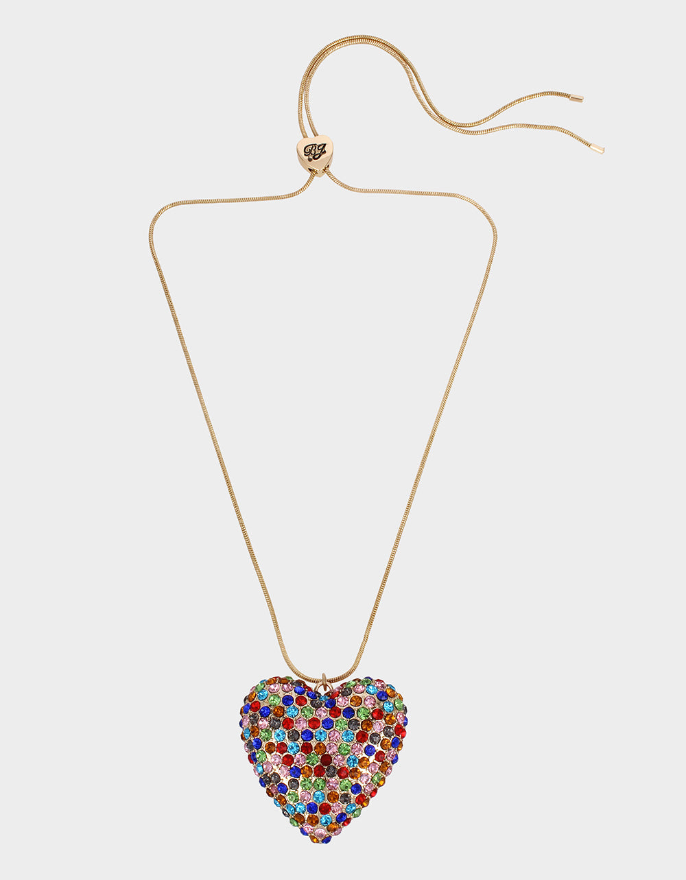 HEARTS ON FIRE PENDANT MULTI - JEWELRY - Betsey Johnson