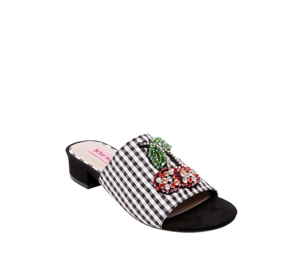 HEAT BLACK MULTI - SHOES - Betsey Johnson