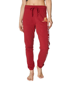 HERE COMES THE SUN SWEATPANT RED