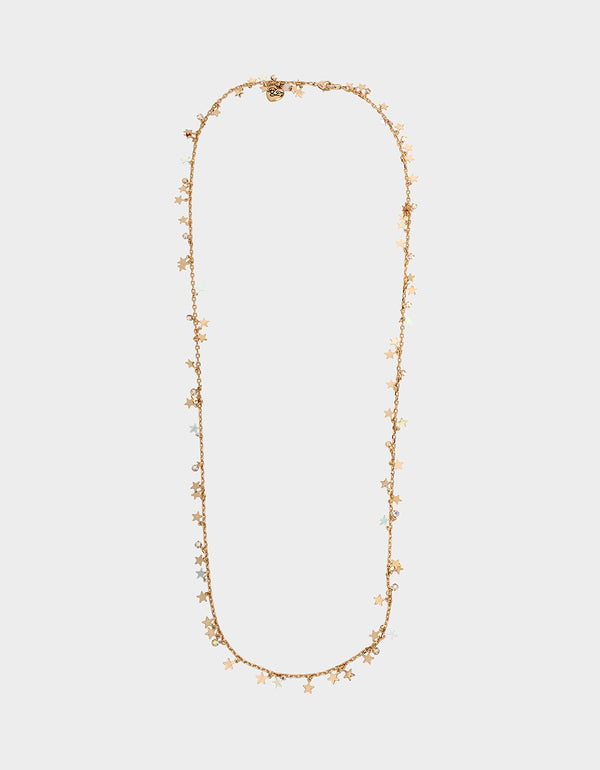 HOLD IT STAR MASK CHAIN CRYSTAL - ACCESSORIES - Betsey Johnson