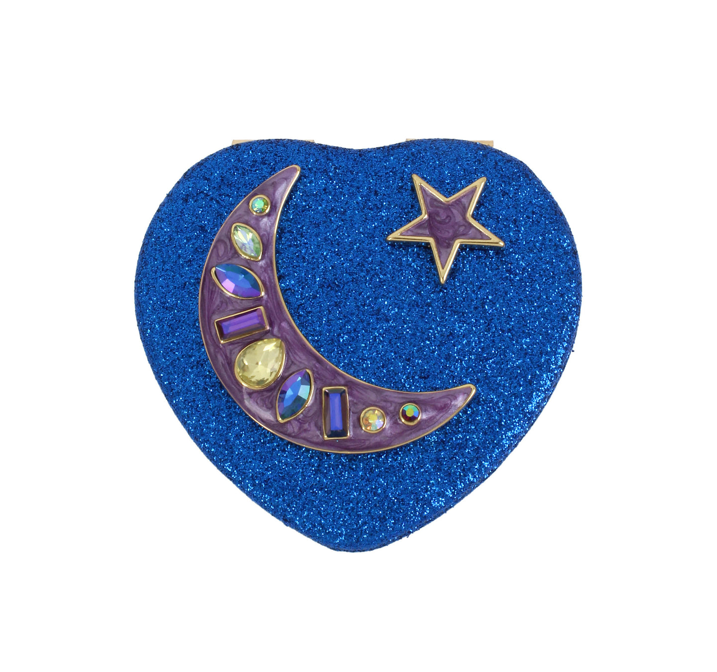 HOLIDAY 2018 BLUE MOON COMPACT BLUE - ACCESSORIES - Betsey Johnson