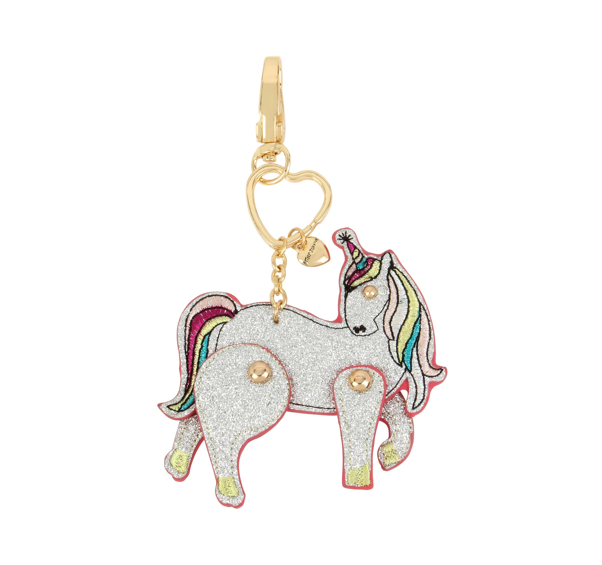 1c7700befc9fa HOLIDAY 2018 MOVING SILVER UNICORN KEYCHAIN SILVER - ACCESSORIES - Betsey  Johnson ...