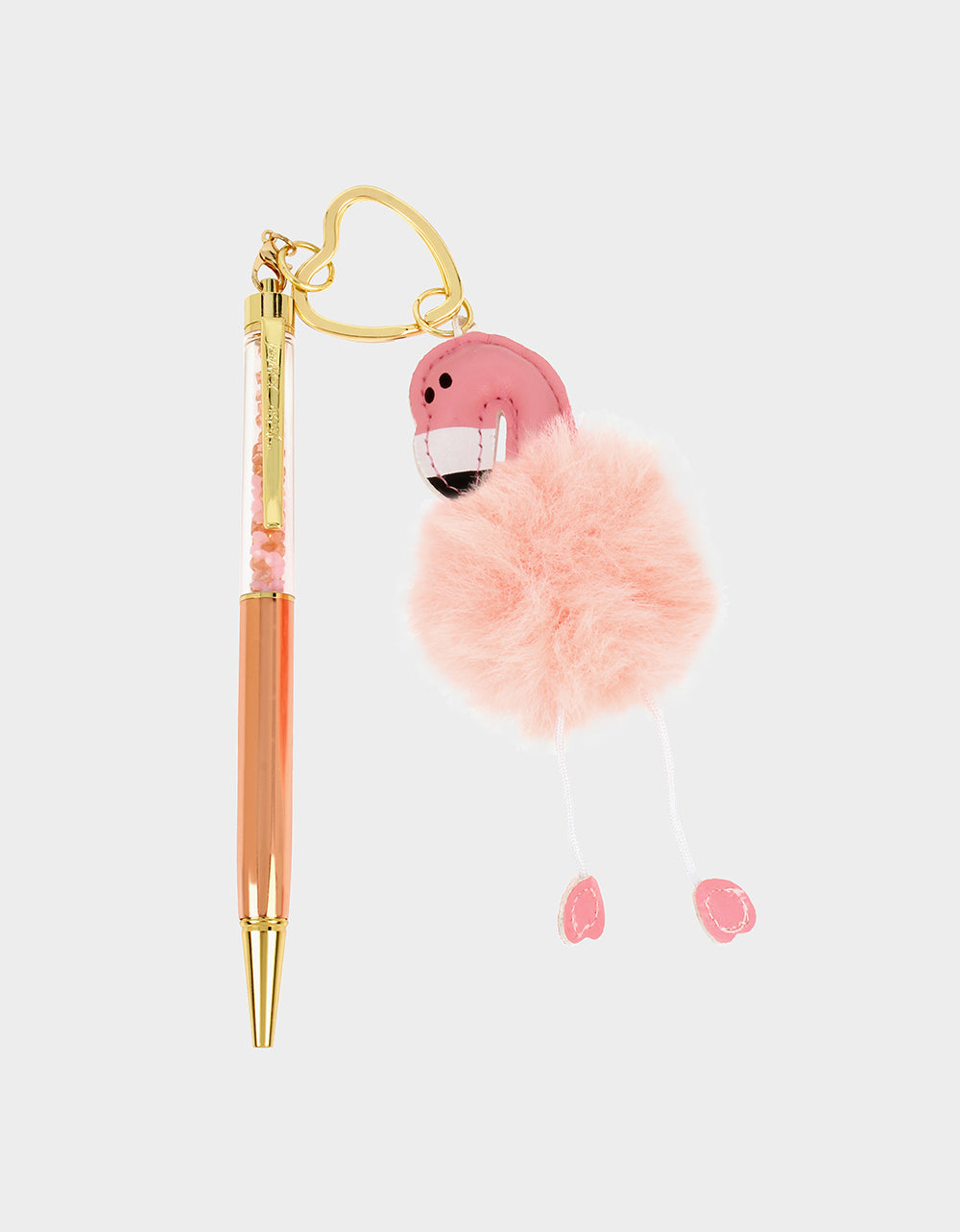 HOLIDAY 2019 FLAMINGO PEN PINK - ACCESSORIES - Betsey Johnson