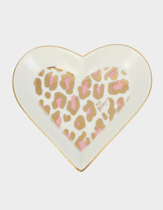 HOLIDAY 2019 LEOPARD TRINKET DISH PINK