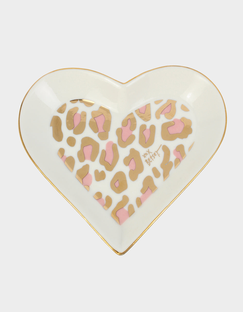 HOLIDAY 2019 LEOPARD TRINKET DISH PINK - ACCESSORIES - Betsey Johnson
