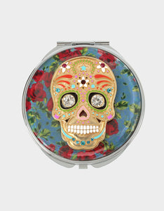 HOLIDAY 2019 ROSE SKULL COMPACT RED