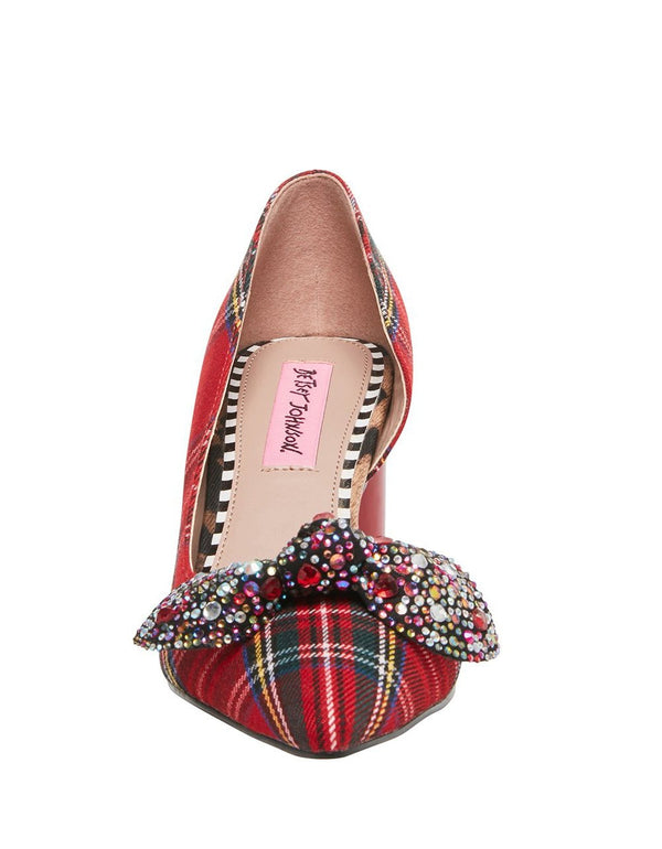 HOLLIE RED - SHOES - Betsey Johnson