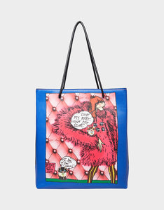 ICONIC BETSEY TOTE BLUE MULTI