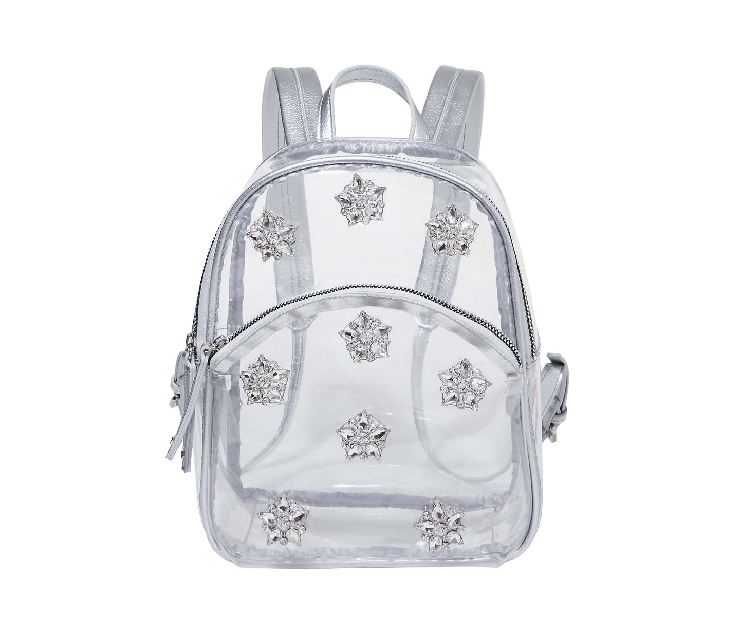 IF THE BAG FITS MINI BACKPACK CLEAR - HANDBAGS - Betsey Johnson