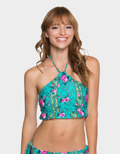 IN BLOOM HALTER TOP MULTI - APPAREL - Betsey Johnson