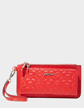 IN STITCHES WALLET RED -  - Betsey Johnson