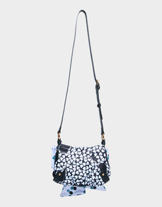 ITS ABOWT TIME POCHETTE BLACK/WHITE