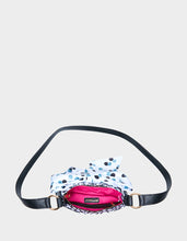 ITS ABOWT TIME POCHETTE BLACK/WHITE - HANDBAGS - Betsey Johnson