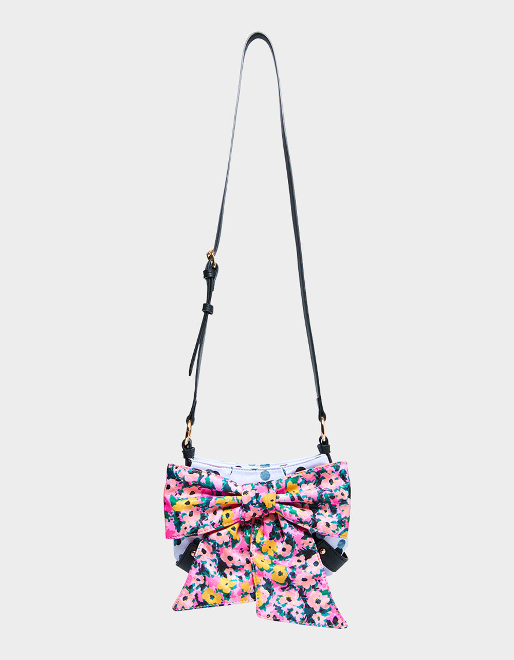ITS ABOWT TIME POCHETTE FLORAL - HANDBAGS - Betsey Johnson