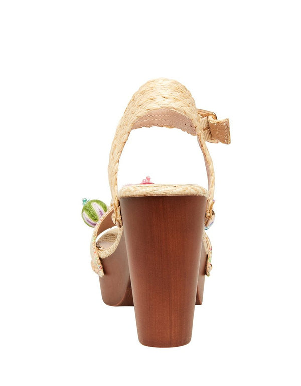 JADAN NATURAL MULTI - SHOES - Betsey Johnson