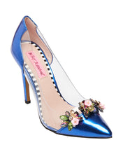 JANE BLUE MULTI - SHOES - Betsey Johnson