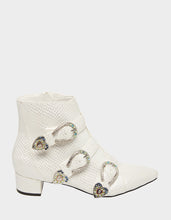 JONAA WHITE SNAKE - SHOES - Betsey Johnson