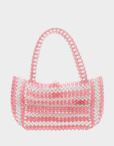 JUST BEAD IT SATCHEL PINK