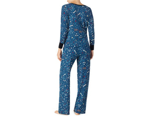 KEEP DREAMING COZY PJ SET NAVY