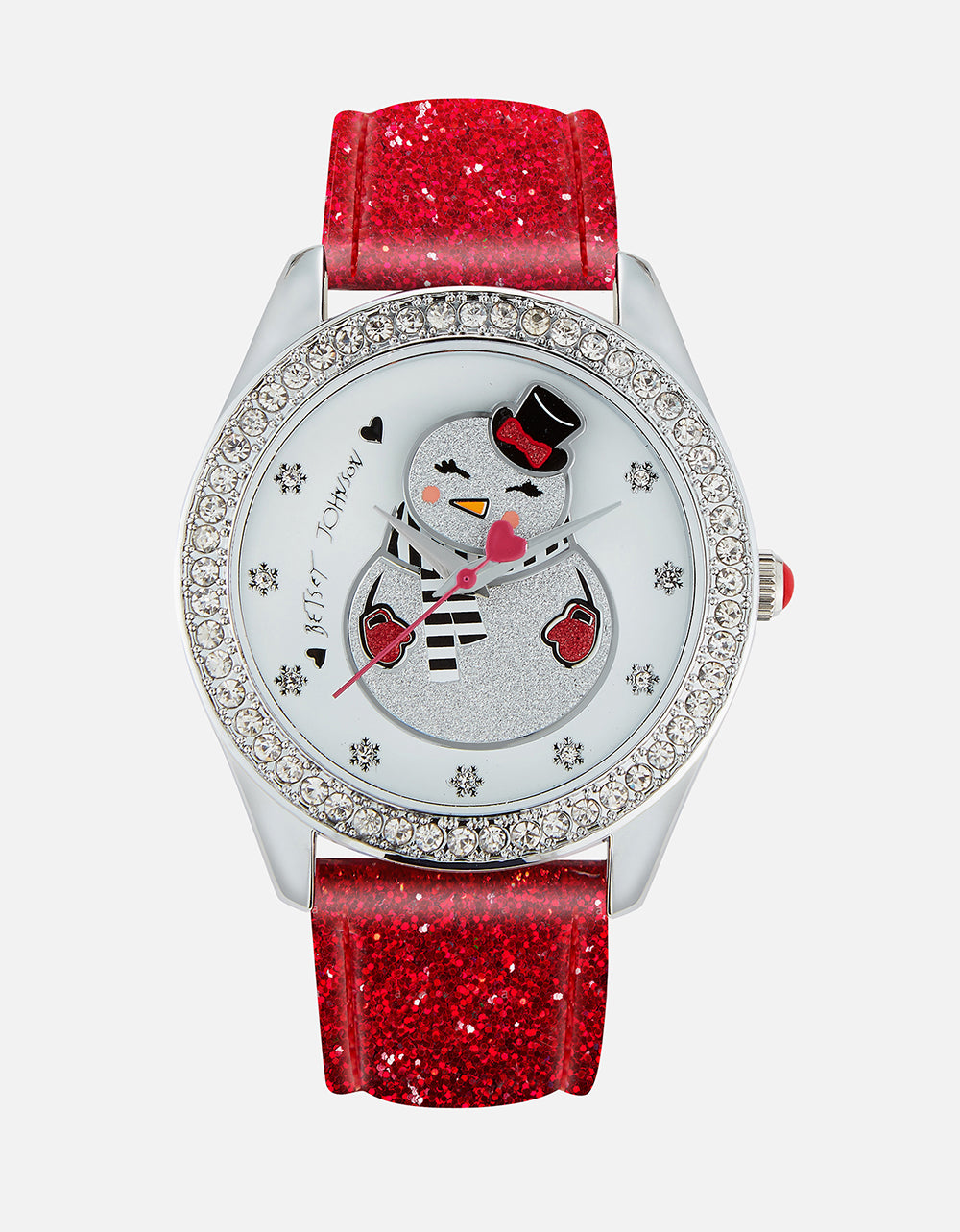 KEEP IT CHILL SNOWGAL WATCH RED - JEWELRY - Betsey Johnson