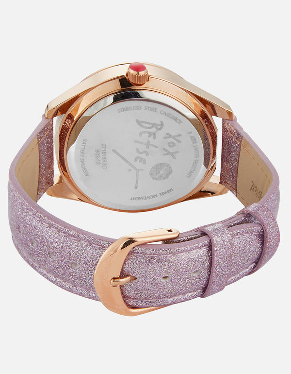 KEEP IT SWEET GINGERGAL WATCH BLUSH - JEWELRY - Betsey Johnson
