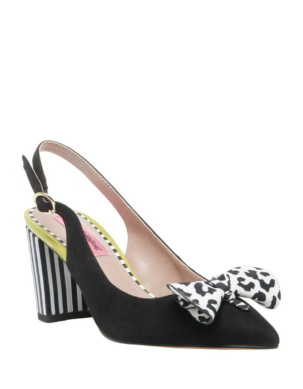 KINNY BLACK MULTI - SHOES - Betsey Johnson
