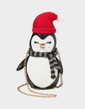 KITSCH COZY PENGUIN CROSSBODY BLACK-WHITE - HANDBAGS - Betsey Johnson