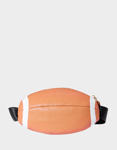 KITSCH FOOTBALL FANNY PACK BROWN