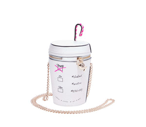 KITSCH GINGERBREAD LATTE CROSSBODY WHITE