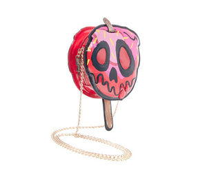 KITSCH HARD CORE CANDY APPLE CROSSBODY RED