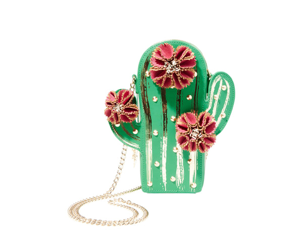 KITSCH LOOKIN SHARP CACTUS CROSSBODY MULTI - HANDBAGS - Betsey Johnson