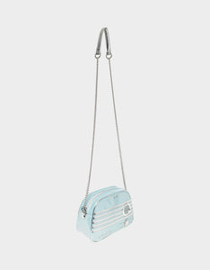 KITSCH RADIO WAVES CROSSBODY BLUE