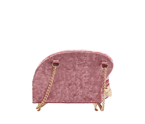 KITSCH SOFA SO GOOD CROSSBODY PINK - HANDBAGS - Betsey Johnson
