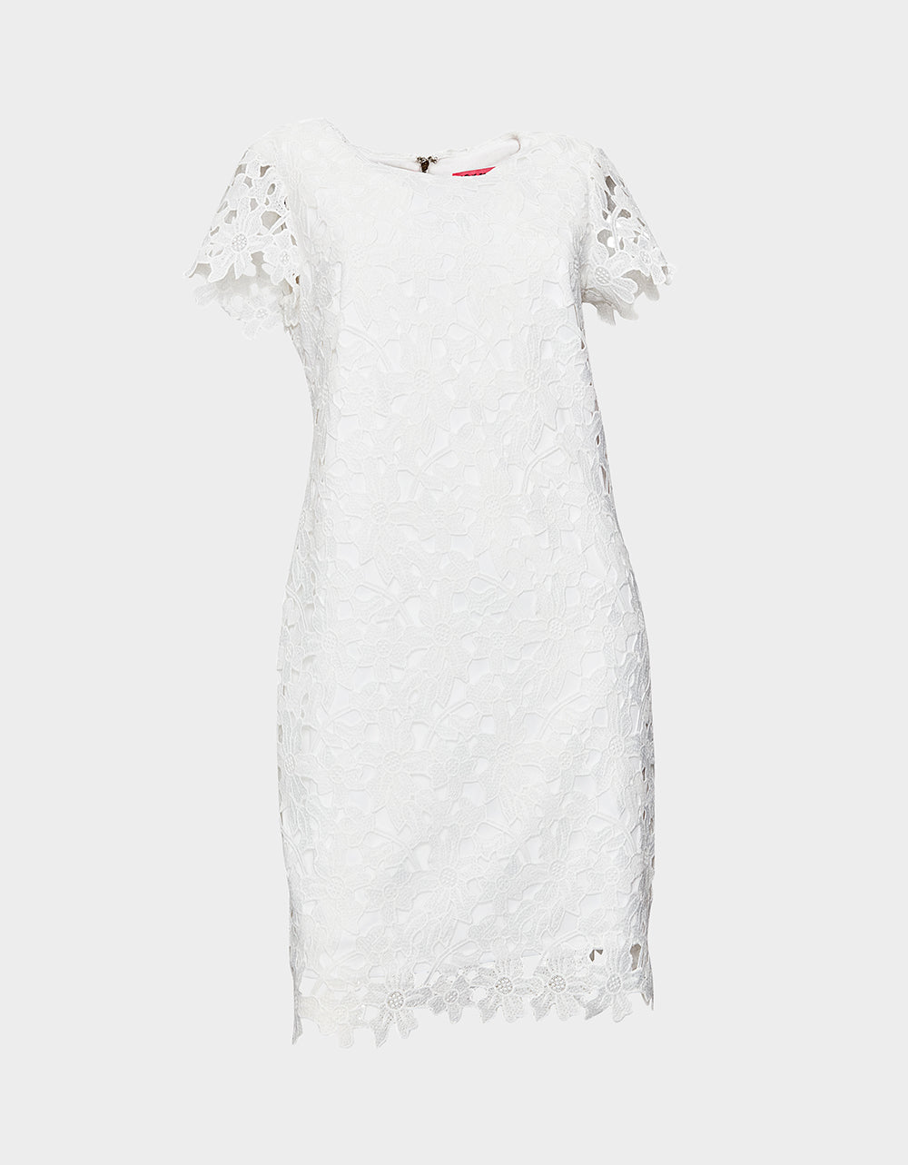 LACEY LAYER MIDI DRESS IVORY - APPAREL - Betsey Johnson