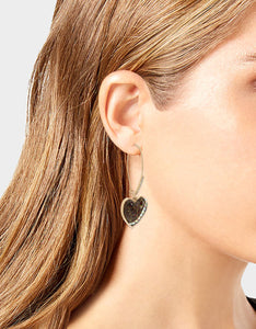 LEAPING LEOPARDS HOOK EARRINGS LEOPARD