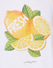 LEMON FRESH SWING TANK WHITE - APPAREL - Betsey Johnson