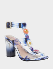 LENNIE BLUE MULTI - SHOES - Betsey Johnson