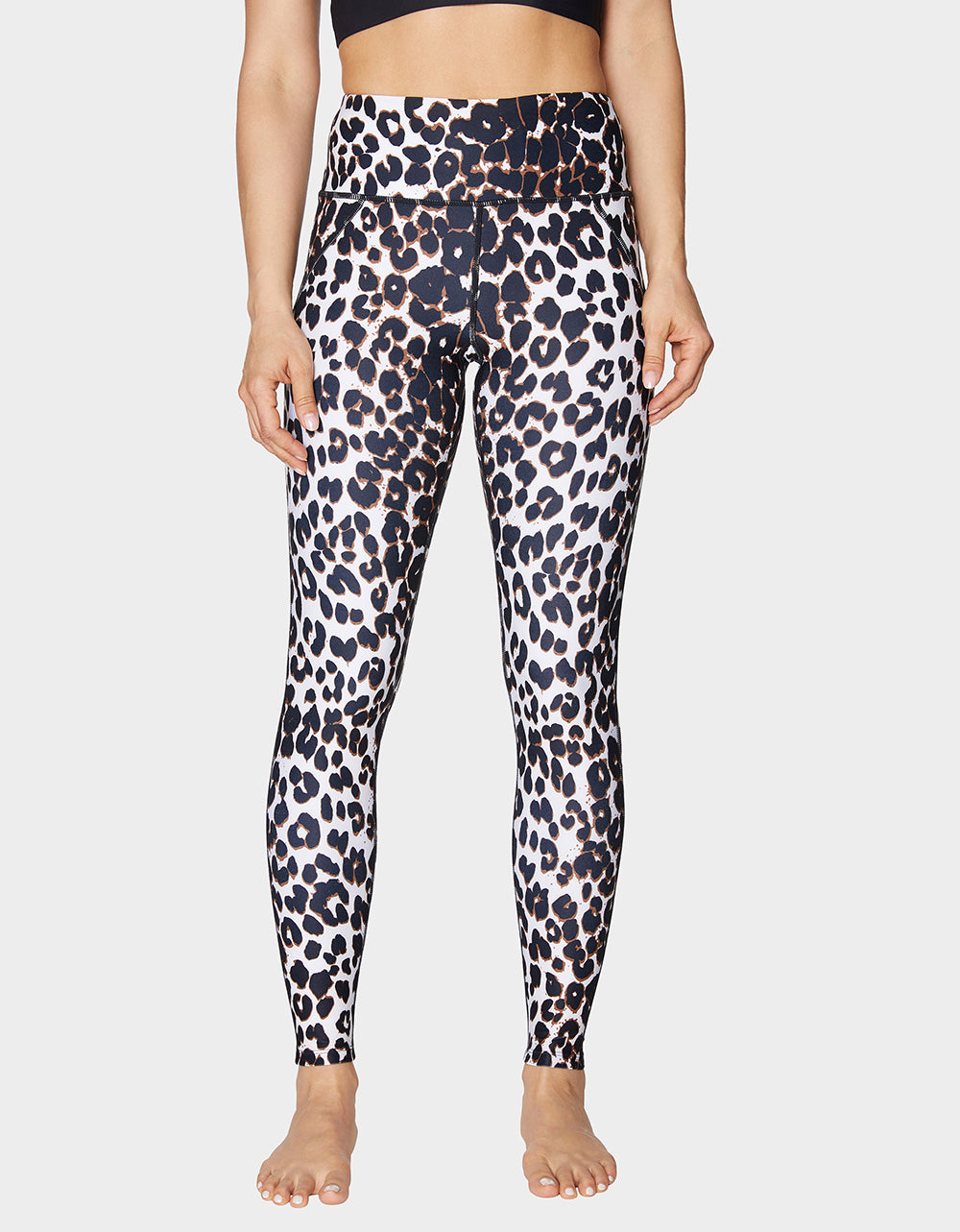 LEOPARD HIGH RISE LEGGING LEOPARD - APPAREL - Betsey Johnson