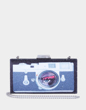 LIGHTS CAMERA MINAUDIERE BLACK - HANDBAGS - Betsey Johnson