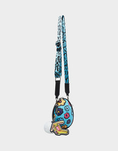 LIMITED EDITION EGGCELENT CROSSBODY BLUE MULTI