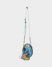 LIMITED EDITION EGGCELENT CROSSBODY BLUE MULTI - HANDBAGS - Betsey Johnson