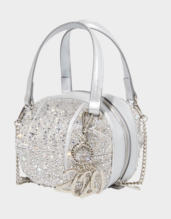 LIMITED EDITION NEW YEARS EVE 2020 BALL SILVER - HANDBAGS - Betsey Johnson