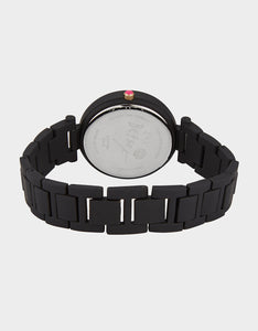 LINKED LOVE WATCH BLACK